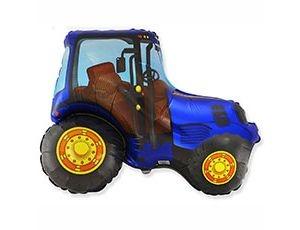 Трактор синий новый - купить в Мытищах